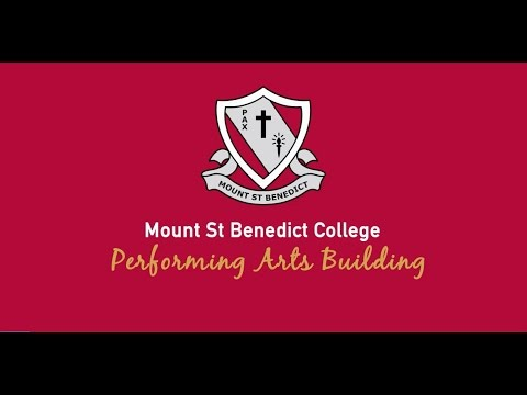 Mt St Benedicts College – Performing Arts Centre